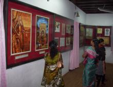 view-inside the gallery .